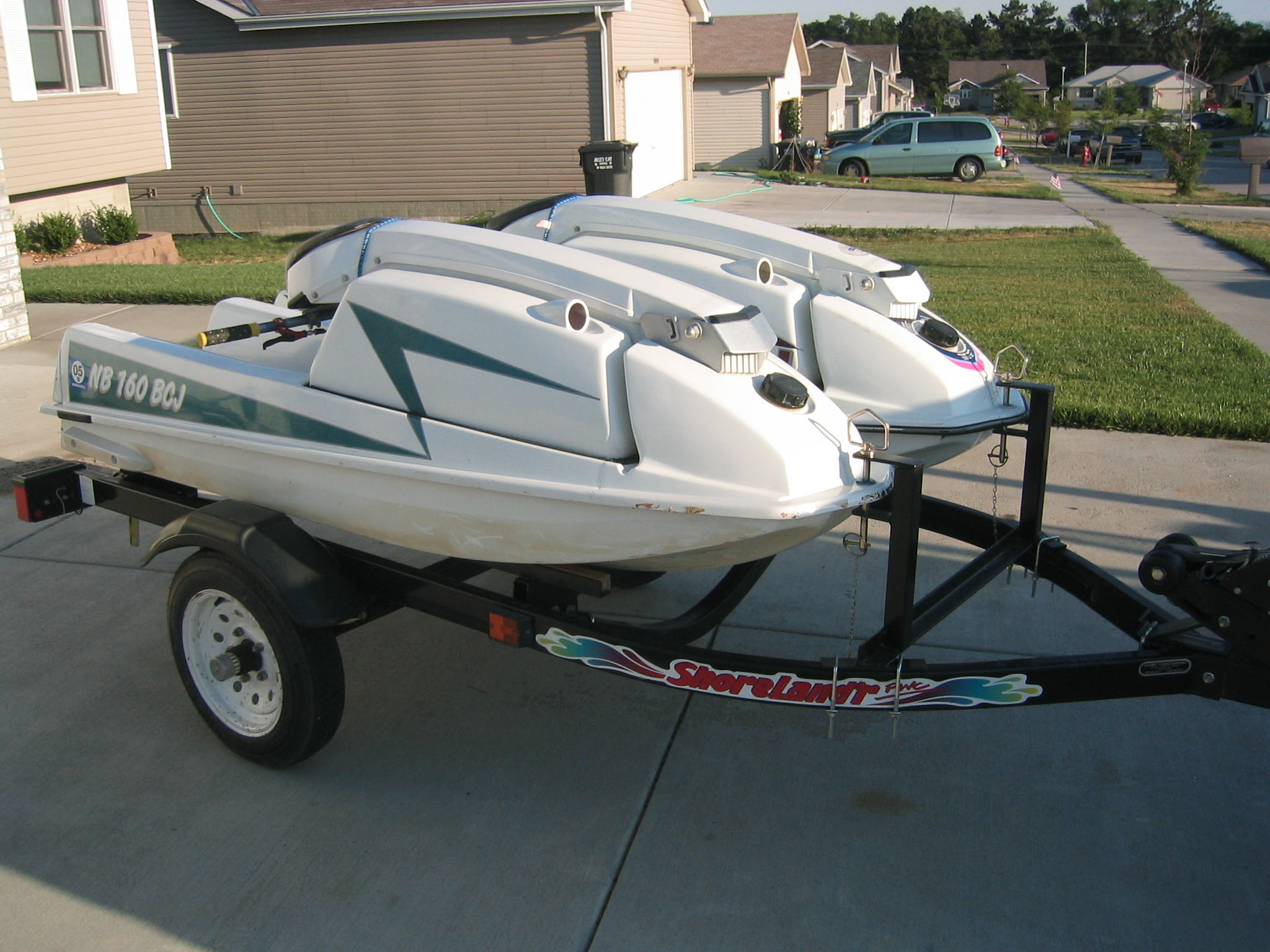 Pictures of the front mount on your jet ski trailers